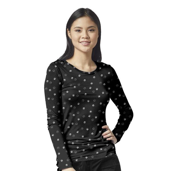 Wink Scrubs All-over Printed Tee Extended Sizes
