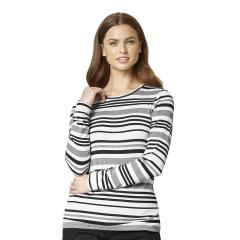 Wink Scrubs Vary Striped Tee