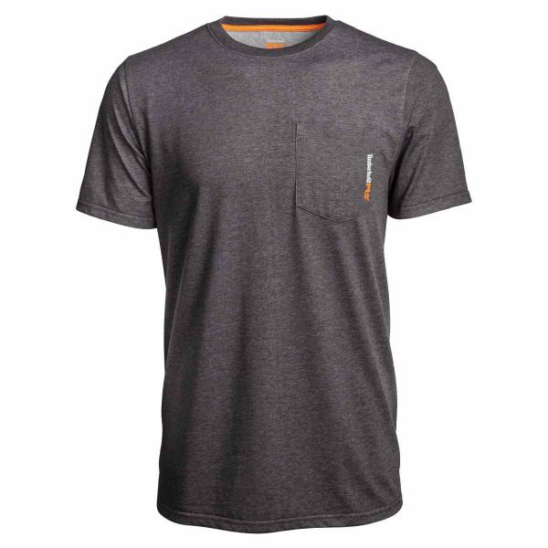 Timberland Men's Big & Tall Base Plate Blended SS Tee