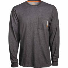 Men's Big & Tall Base Plate Blended LS Tee