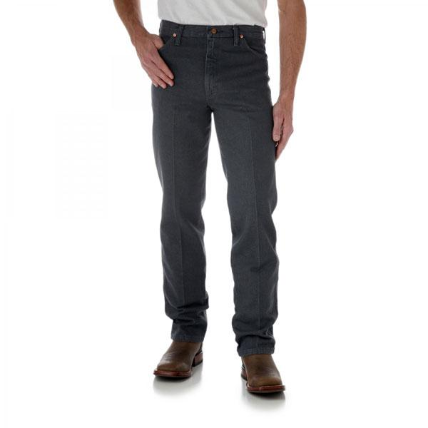 Wrangler Men's Cowboy Cut Jean Slim Fit - Charcoal Grey