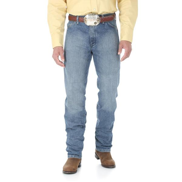 Wrangler Men's Cowboy Cut Original Fit Jean - Rough Stone