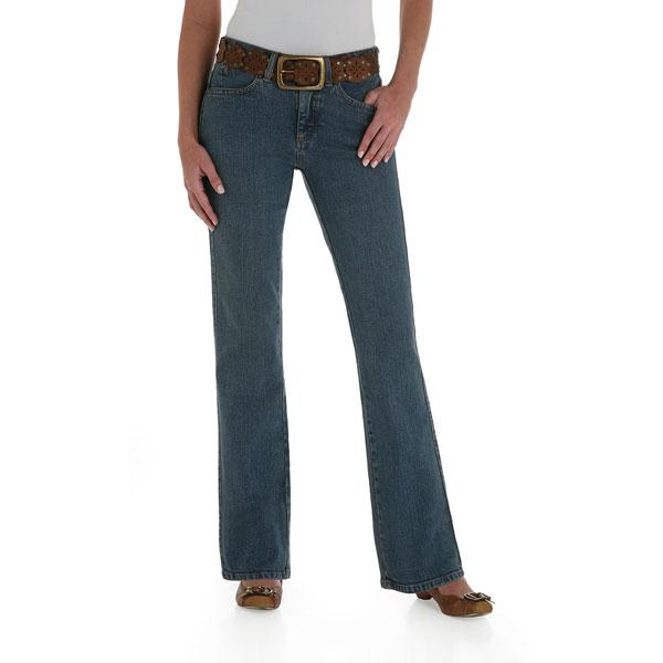 Wrangler Women's Western Aura Jeans - Tinted Mid-Stone