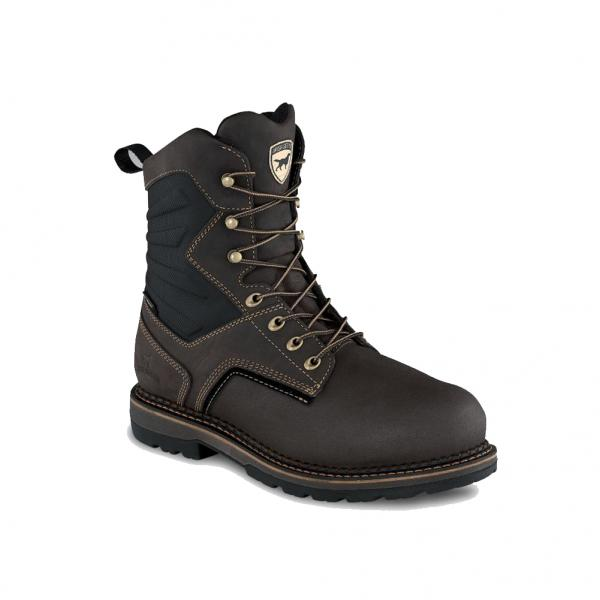 Irish Setter Men's Ramsey 2.0 8 Inch WP Insulated Leather Safety Toe Boot