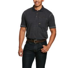 Men's Rebar Workman Polo - Charcoal Heather