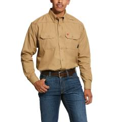 Men's FR Featherlight Work Shirt - Khaki
