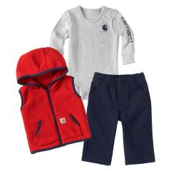 Infants' 3 Piece Vest Gift Set
