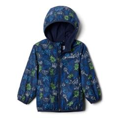 Toddler's Mini Pixel Grabber II Wind Jacket