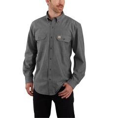 Men's Original Fit Midweight LS Button Front Shirt
