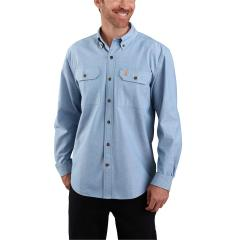 Men's Original Fit Midweight LS Button Front Shirt TW368