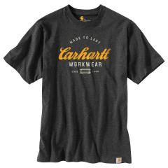 Carhartt Men's Relaxed Fit Heavyweight SS Made to Last Graphic Shirt TK181