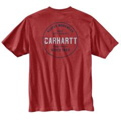 Carhartt Men's Relaxed Fit Heavyweight SS Pocket Rugged Graphic Shirt TK178
