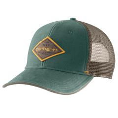Men's Canvas Mesh-Back Premium Quality Graphic Cap AH335