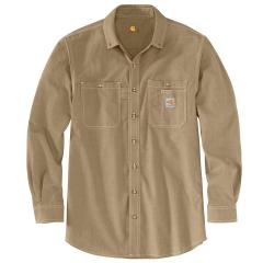 Men's Flame Resistant Force Original Fit Lightweight LS Button Front Shirt