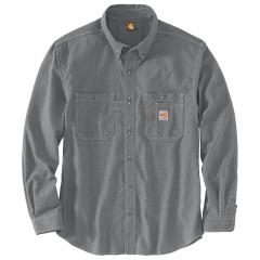 Men's Flame Resistant Force Original Fit Lightweight LS Button Front Shirt TW138