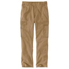 Men's Flame Resistant Rugged Flex Relaxed Fit Canvas Cargo Pant BN574