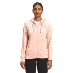 The North Face Women's Lightweight Tri-Blend Full Zip Hoodie