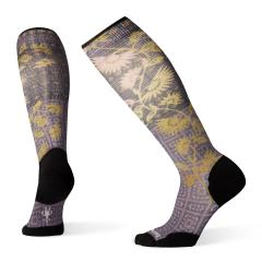 Smartwool Women's Compression Sightseeing Sunflower Print OTC - Past Season