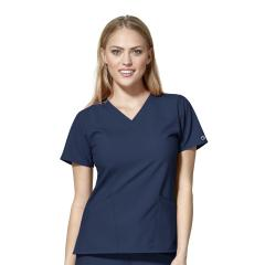 Women's Basic V-Neck Top - Extended Sizes