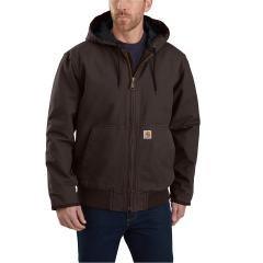 Men's J130 Washed Duck Insulated Active Jac