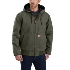 Men's Washed Duck Insulated Active Jac