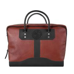 Bison Leather Briefcase