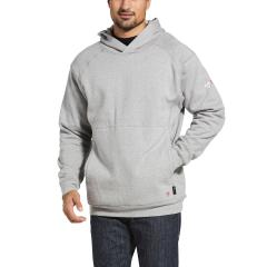 Men's FR Reversible Pullover Hoodie - Silver Fox Heather