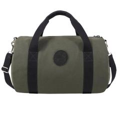 Zippered Round Duffel